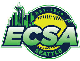 Emerald City Softball Logo