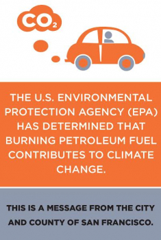 Climate Change Warning Labels for Gas Pumps